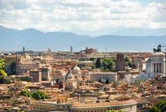 Rome is de hoofdstad van Italië Stock Afbeelding
