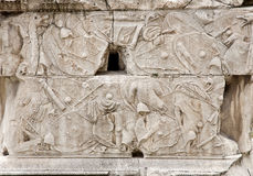 Rome - detail from Column of Trajan Royalty Free Stock Images