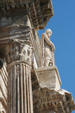 Rome - detail from Constantine triumph arch Royalty Free Stock Photography