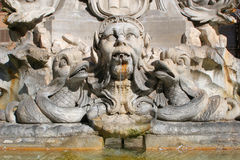 Rome - detail from fountain Royalty Free Stock Photos