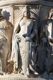 Rome - detail from Vittorio Emanuel landmark Royalty Free Stock Images