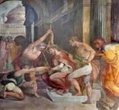 Rome - doornenkroning van Christus stock afbeelding