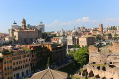 Rome Downtown Royalty Free Stock Photography