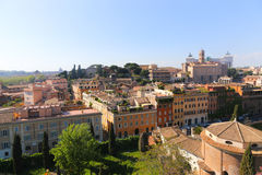 Rome Downtown Stock Photography
