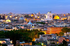 Rome at dusk Stock Image
