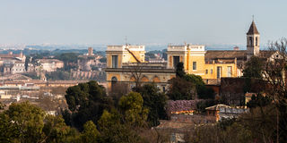 Rome in Early Spring Stock Image