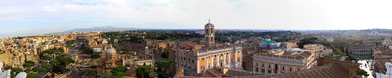 Rome east view Royalty Free Stock Image