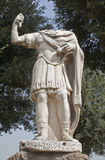 Rome - emperor statue from Palatine hill Royalty Free Stock Photo
