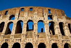 Rome empire colloseum Stock Images