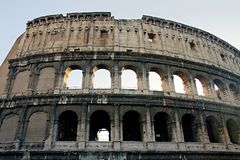 Rome empire colloseum Royalty Free Stock Photography