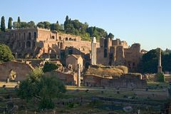 Rome empire ruins Stock Photo
