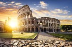 Rome en Colosseum, Italië royalty-vrije stock afbeelding