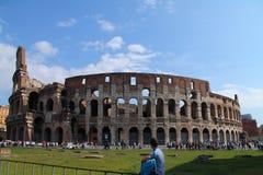 Rome en de toeristen Stock Foto