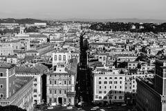 Rome en noir et blanc Photo stock