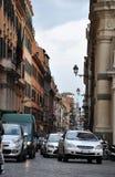 Rome a encombré des rues photographie stock libre de droits