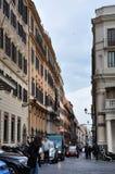 Rome a encombré des rues photo libre de droits