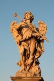 Rome - engelenstandbeeld Stock Foto's