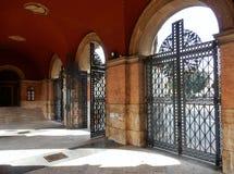 Rome - Entrance Porch To Verano Stock Photo