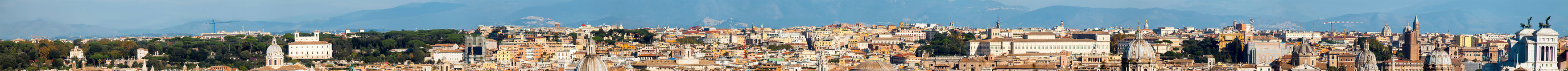 Rome Extra Panoramic View Royalty Free Stock Images