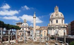 rome fördärvar royaltyfria bilder