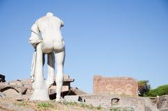 rome Fördärvar av Ostia Antica Royaltyfri Bild