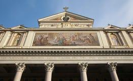 Rome - Facade of San Joachim church Royalty Free Stock Photos