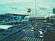 Rome Fiumiccino Airport Stock Photos