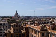 Rome flyg- sikt Arkivfoto
