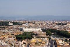 Rome flyg- sikt Royaltyfria Bilder