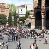 Rome folk Arkivfoton