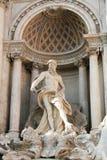 Rome - fontaine de TREVI Image libre de droits