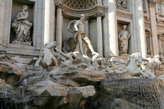 Rome - fontaine de TREVI photo libre de droits