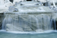 Rome : Fontaine de TREVI Images libres de droits