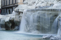 Rome : Fontaine de TREVI Photo stock