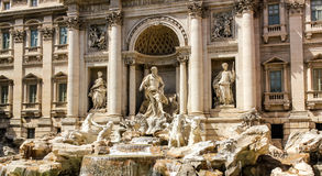 Rome Fontana di Trevi. Beautiful Fontana di Trevi in Rome Royalty Free Stock Images