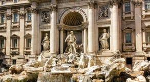 Rome Fontana di Trevi Royaltyfria Bilder