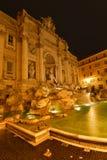 Rome Fontana di Trevi Royaltyfria Foton