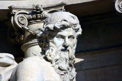 Rome Fontana Di Trevi Stock Afbeelding