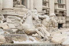Rome - Fontana di Trevi Royalty Free Stock Photo