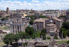 Rome - Fori imperiali Royalty Free Stock Image