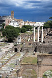 Rome - Fori imperiali Stock Photo