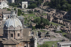 Rome Fori Imperiali Royalty Free Stock Image
