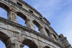 Rome forntida Colosseum Arkivfoton
