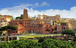 Rome - Foro Traiano Royalty Free Stock Photo