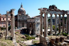 Rome, Forum Royalty Free Stock Images
