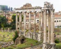Rome forum Italien Royaltyfria Foton