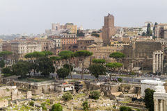 Rome forum Italy Royalty Free Stock Photography