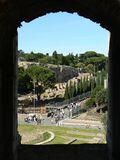 Rome Forum Romanum  Stock Photography