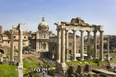Rome. Forum Romanum Royalty Free Stock Images