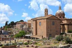 Rome - Forum Romanum Stock Images